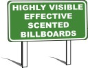 Highly Visible Effective Scented Billboards - Custom Designed Car Air Fresheners